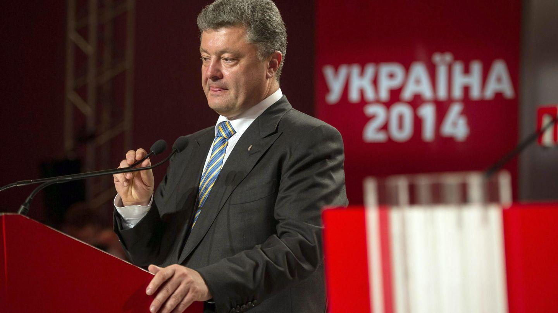 El oligarca Petró Poroshenko (Reuters).