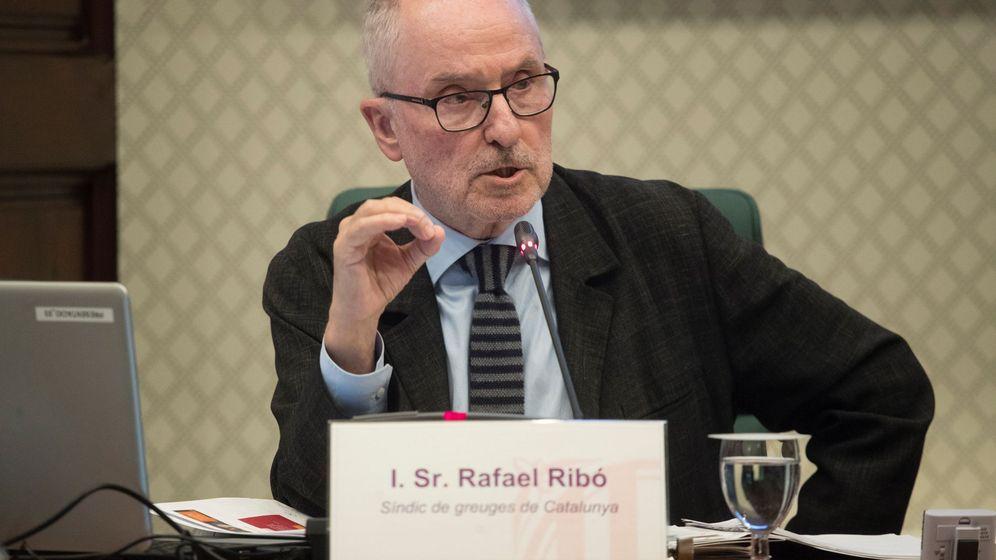 Foto: El Síndic de Greuges de Cataluña, Rafael Ribó. (EFE)