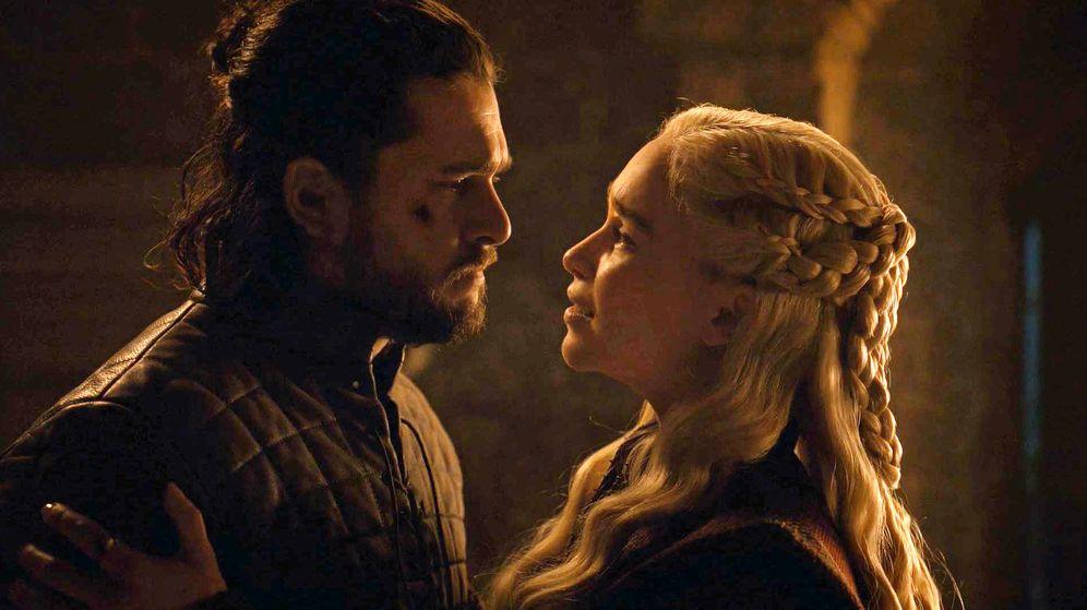 Foto: Jon Nieve y Daenerys Targaryen. (HBO)