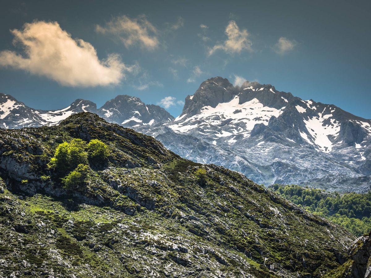 Foto: Los Picos de Europa, en el corazón de la Cordillera Cantábrica. (iStock)