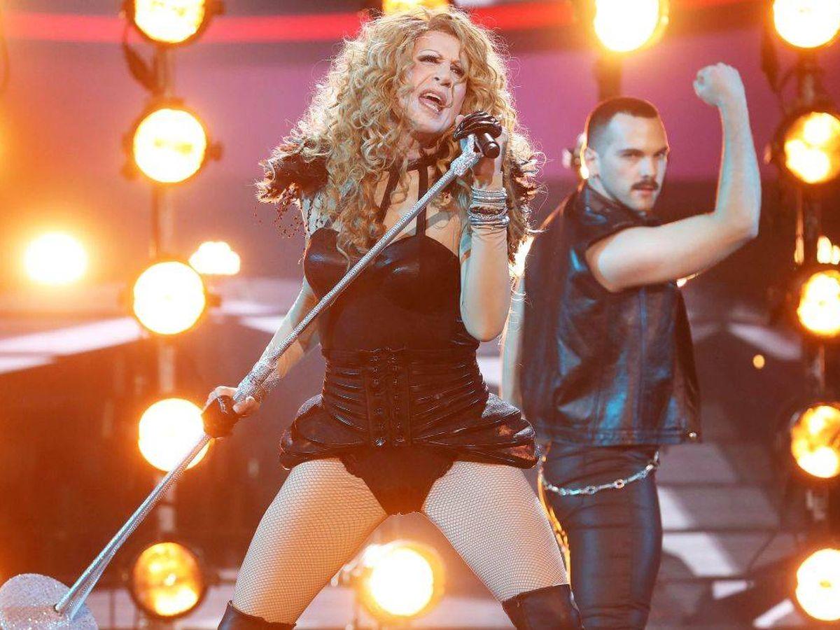 Foto: Mario Vaquerizo, en 'Tu cara me suena'. (Atresmedia Televisión)