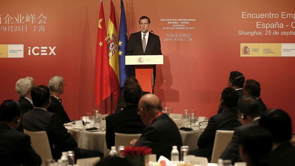 Rajoy se muestra muy optimista en China: Triplicamos el crecimiento de la UE