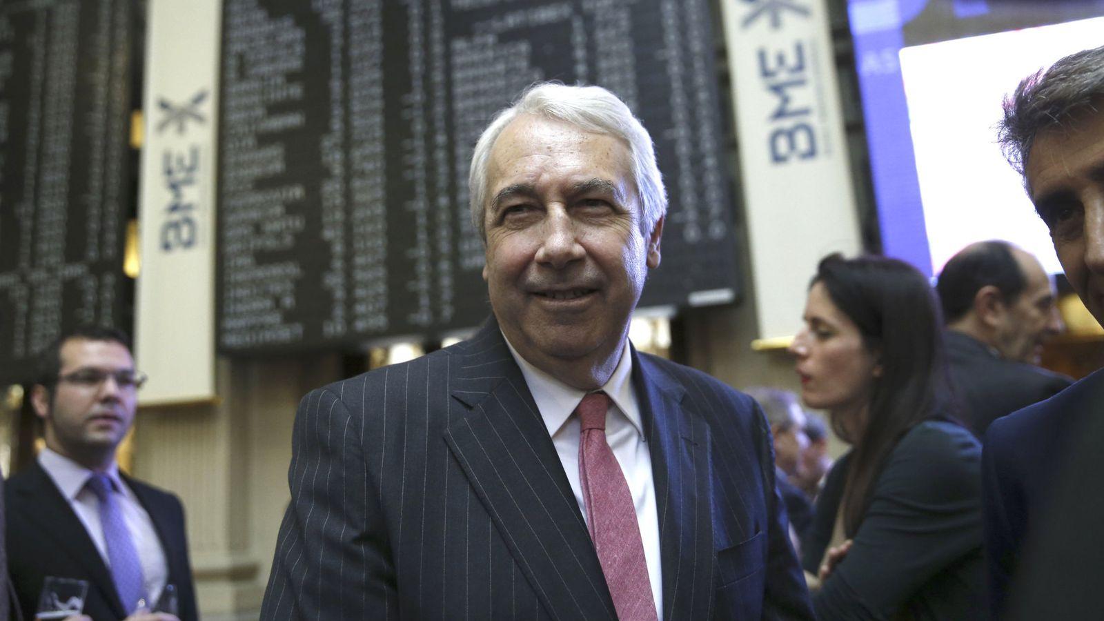 Foto: Antonio Zoido, presidente de BME