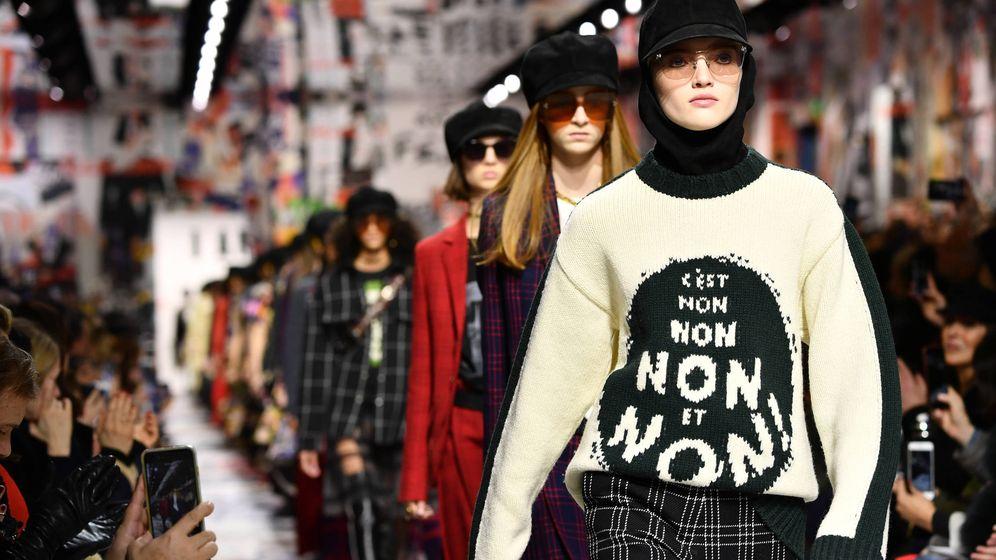 Foto: Desfile de la colección de Christian Dior Otoño-Invierno 2018/2019 (Pascal Le Segretain/Getty Images)