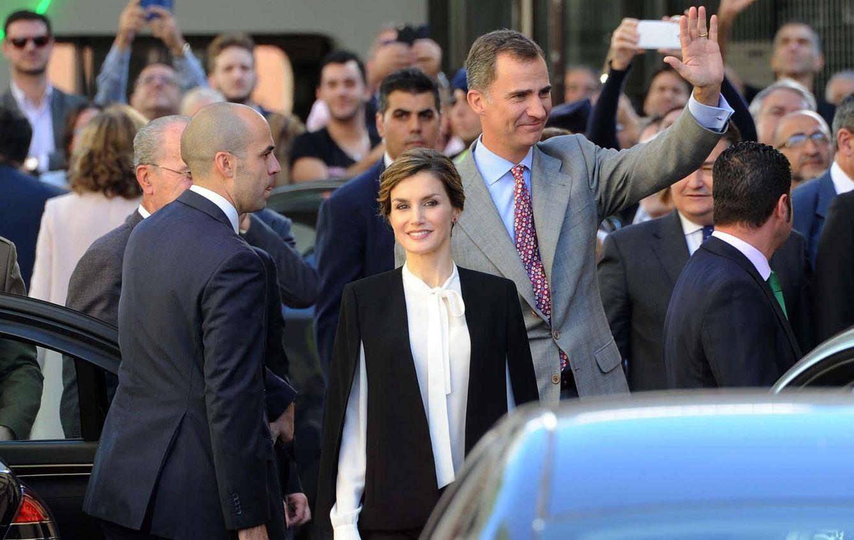 Foto: Los Reyes Felipe y Letizia en la entrega en Málaga de los premios de Innovación y Diseño