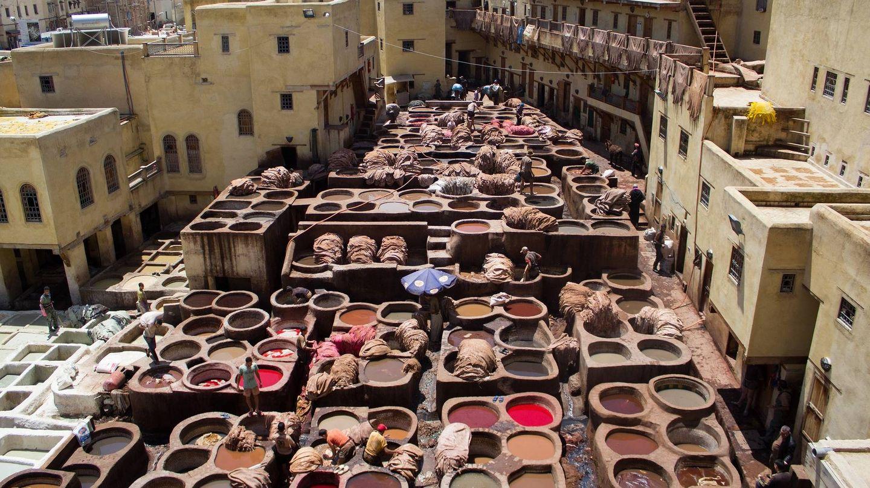 El barrio de los alfareros en Fez. (Cortesía)