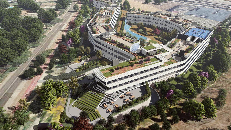Foto: La residencia de estudiantes más grande de Madrid