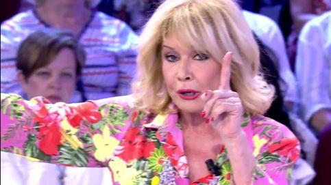 Mila Ximénez amenaza a Mercedes Milá y airea sus trapos sucios en 'Sálvame'