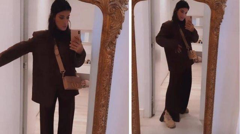 Look total marrón de Zara y Dulceida. (Instagram, @dulceida)
