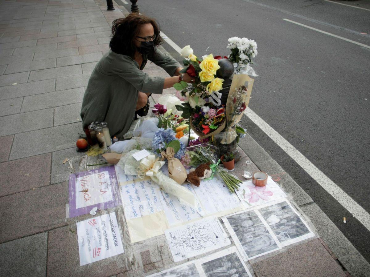 Foto: Lugar donde Samuel falleció en A Coruña tras recibir una paliza. (EFE)