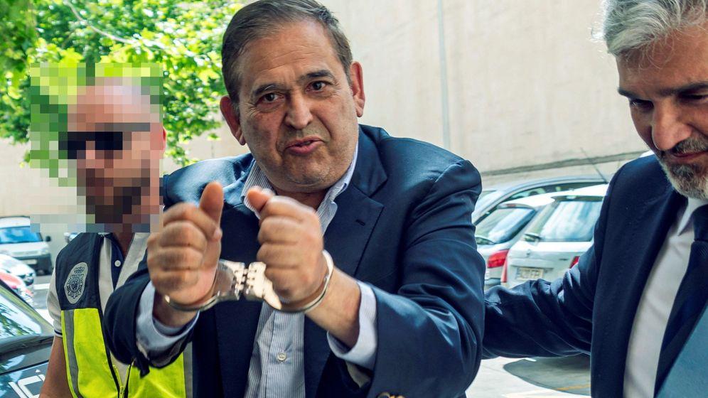 Foto: El empresario mexicano Alonso Ancira, detenido en Palma este martes (Efe)