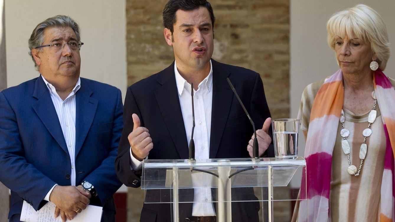 Foto: Juan Manuel Moreno Bonilla, presidente del Partido Popular en Andalucía (EFE)