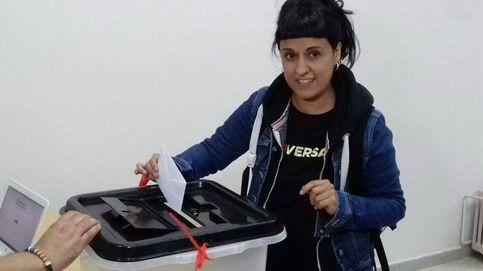 Anna Gabriel (CUP) vota: Un día no podrán más y entonces lo podremos todo