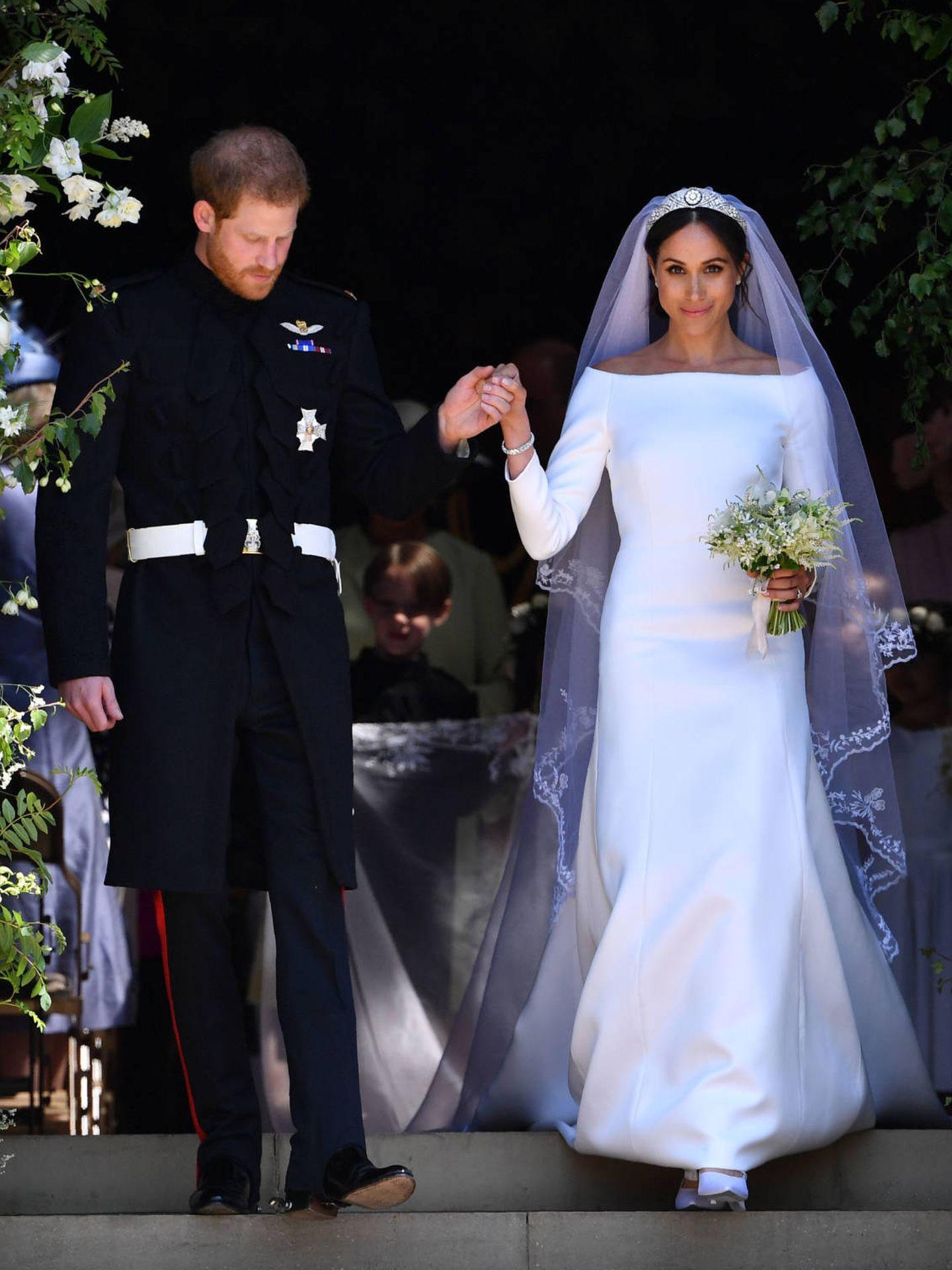 Meghan Markle y su vestido de Givenchy. (Gtresonline)