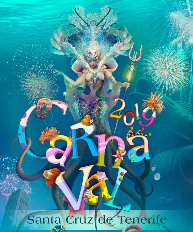 Foto: Cartel del Carnaval de Santa Cruz de Tenerife 2019