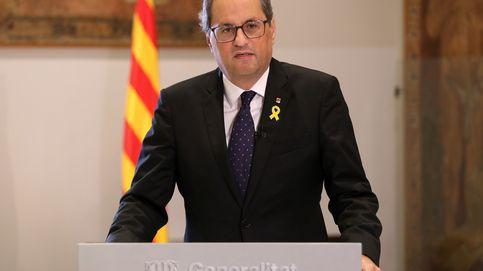 Torra: No claudicaremos; Sánchez es cómplice de la represión