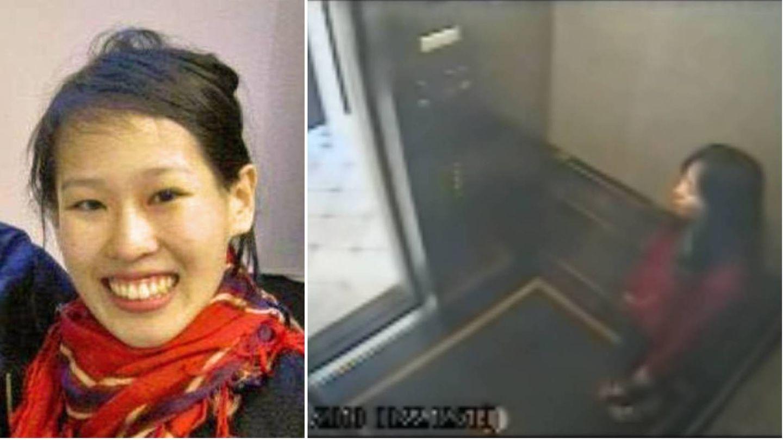 Elisa Lam en la foto que distribuyó la policía