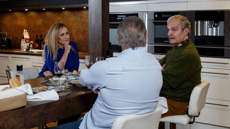 Cifuentes, Mariñas y Osborne. (Telecinco)