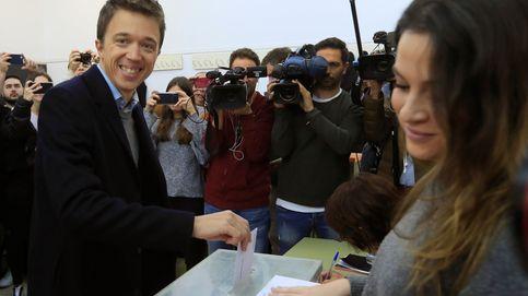 Errejón pincha y la división del voto hacia Más País cuesta dos escaños a Podemos