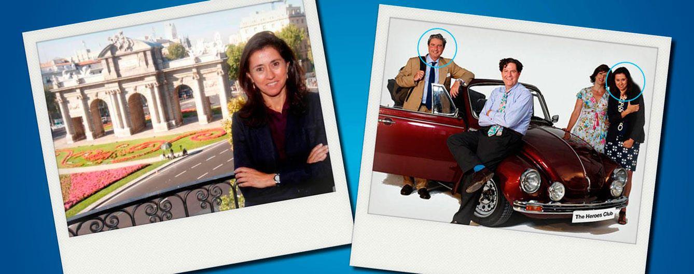 Foto: Gela Alarcó y Martín González del Valle en un fotomontaje de 'Vanitatis'