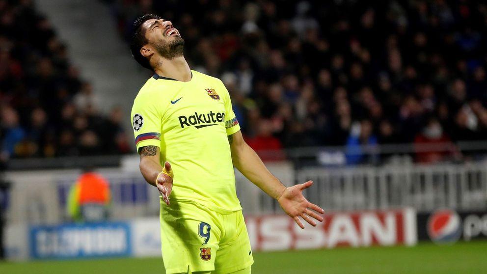 El acusado declive de Luis Suárez, un goleador que nunca marca por Europa
