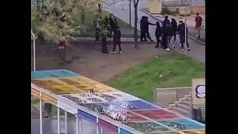 Buscan a los participantes en una pelea a machetazos en un parque de Madrid