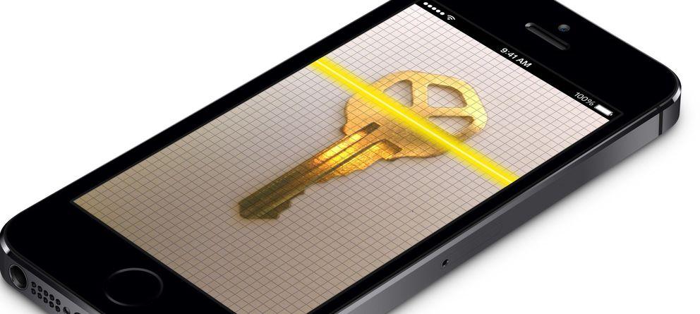 Foto: Una llave maestra que cualquiera puede fabricar en casa