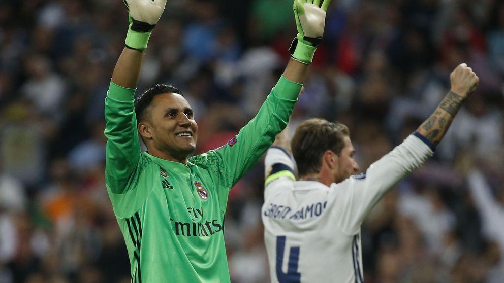 Keylor Navas, una vida en la diana del Real Madrid bajo la dictadura de De Gea