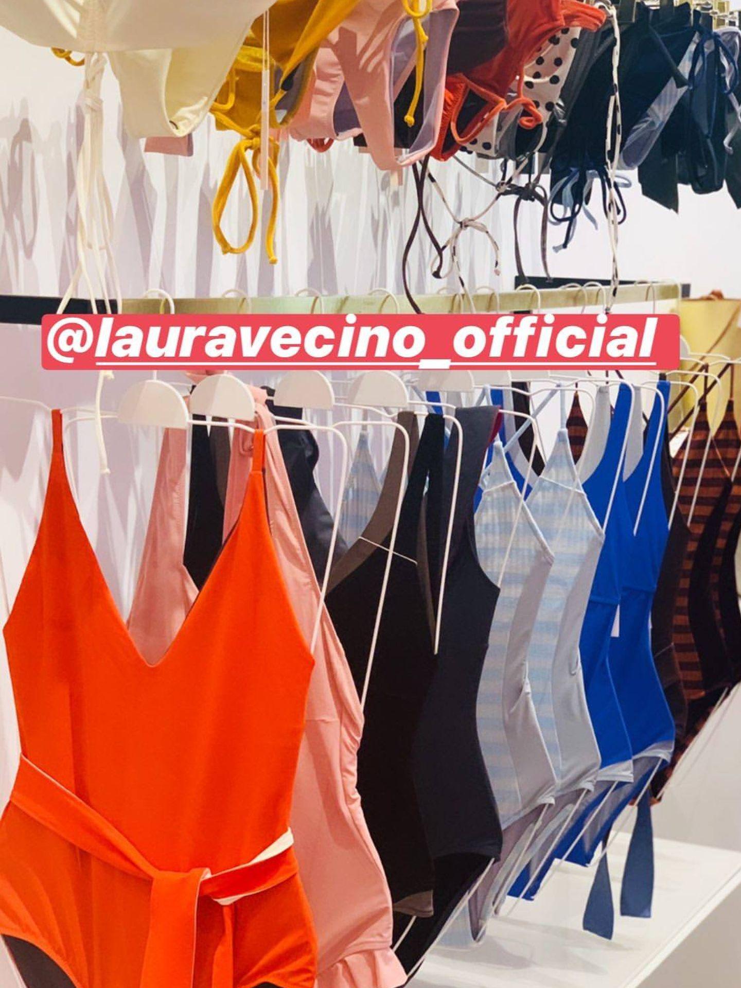 Detalle de la tienda de Laura Vecino. (@andreapascual)