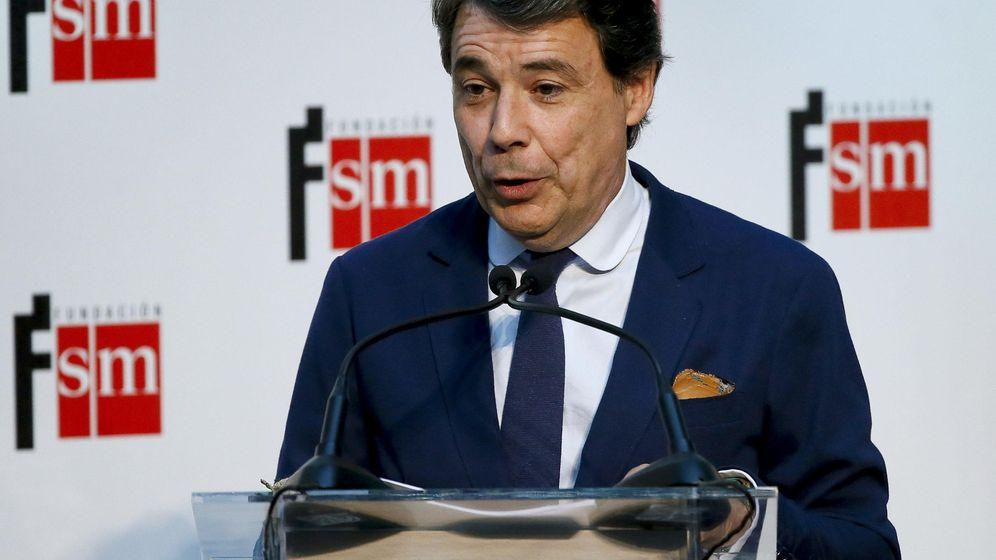 Foto: El presidente de la Comunidad de Madrid, Ignacio González, en un acto en abril. (EFE)