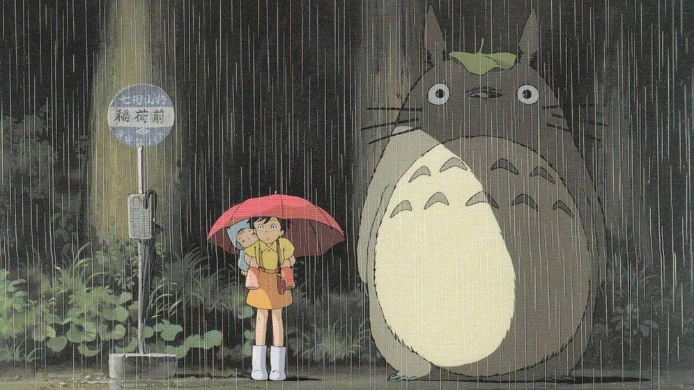 Foto: Fotograma de 'Mi vecino Totoro'.