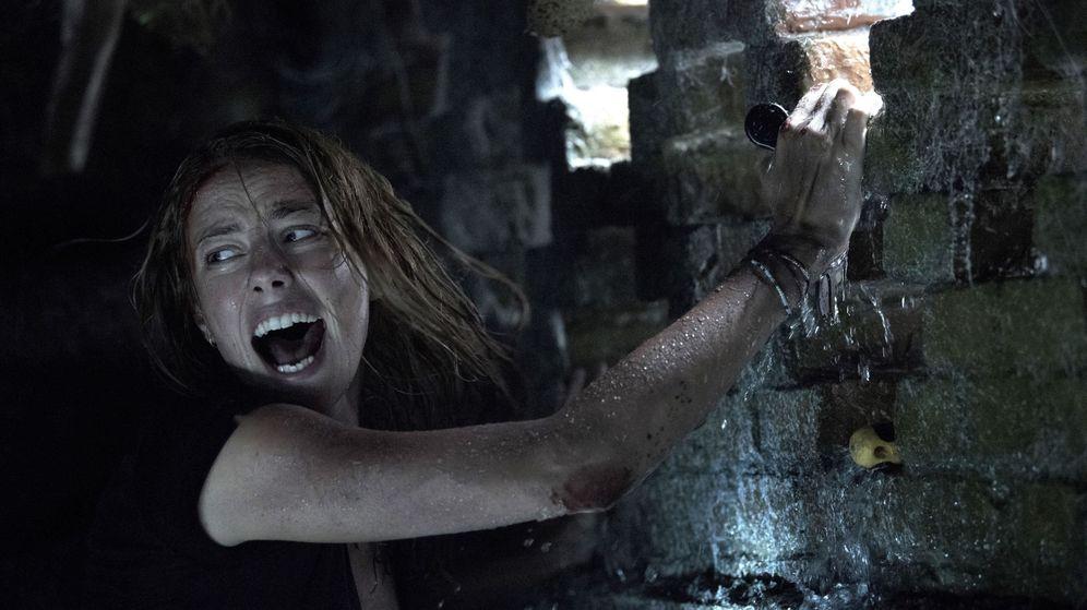 Foto: Kaya Scoderlario en 'Infierno bajo el agua'. (Paramount)