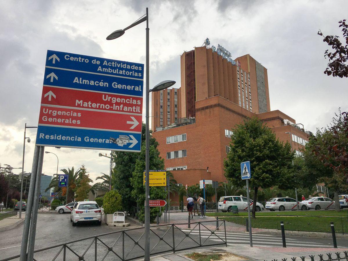 Foto: Exterior del Hospital Universitario 12 de Octubre, en Madrid. (D.B.)