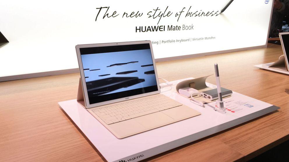 El Matebook de Huawei es la respuesta 'low cost' a la Surface y el iPad Pro