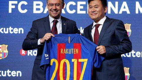 El Barcelona anuncia que Rakuten es su nuevo patrocinador principal