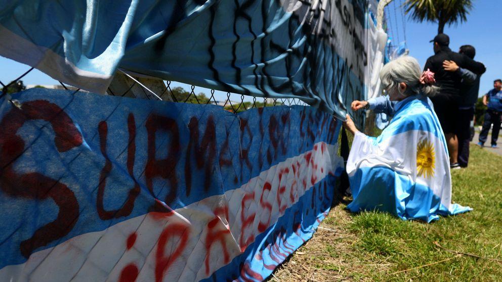 Buscan al submarino argentino perdido a 950 metros de profundidad