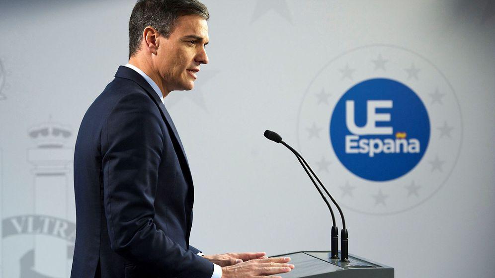 Foto: Pedro Sánchez en rueda de prensa. (EFE)