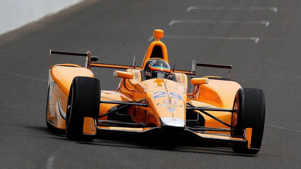 Foto: Así fue el debut de Fernando Alonso en Indianápolis