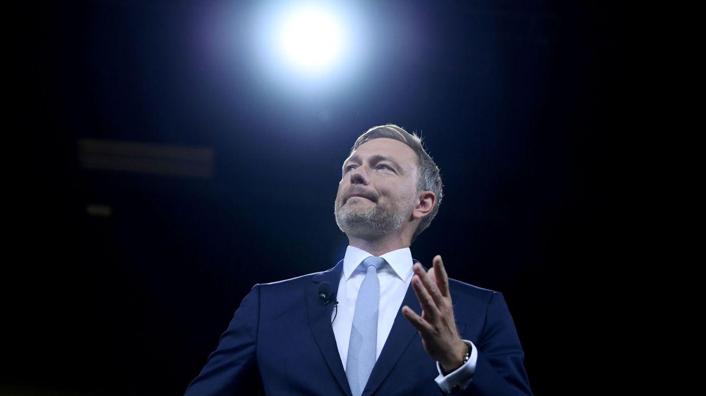 Foto: Christian Lindner, líder del FDP, en la convención del partido el pasado 19 de septiembre. (Reuters)