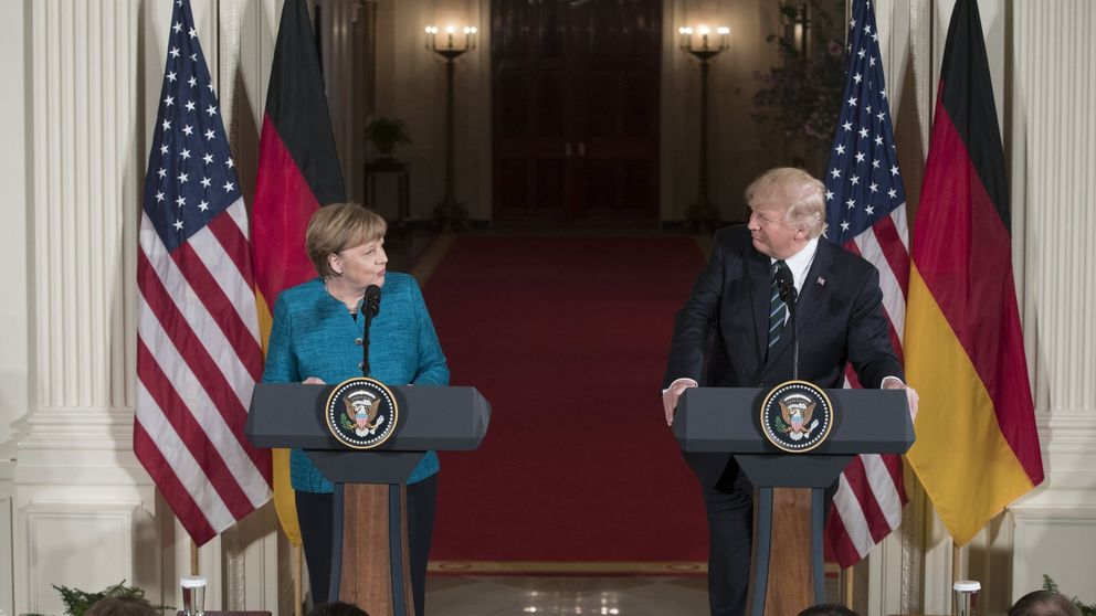 El anticlímax de Merkel en la Casa Blanca