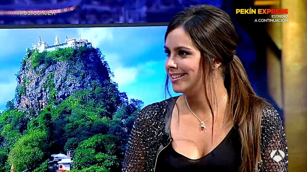 Una enamorada Cristina Pedroche habla de penes con Pablo Motos