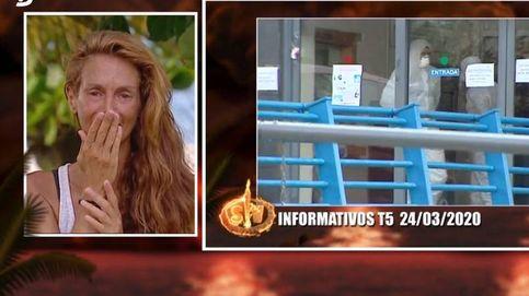 Elena se derrumba en 'SV' al ver cómo el coronavirus ha sacudido España