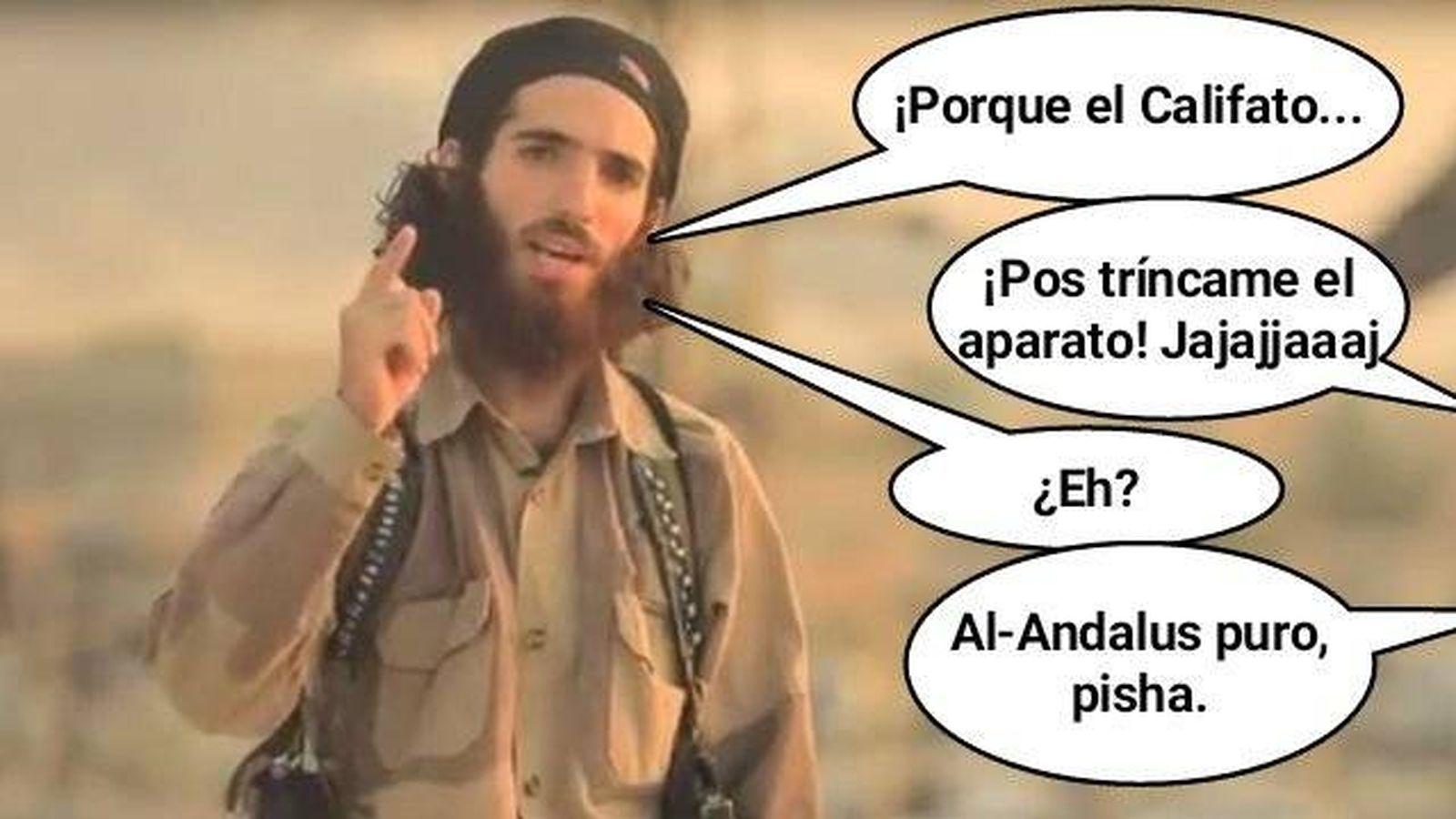 Resultado de imagen de se cachondea en Twitter de las amenazas yihadistas