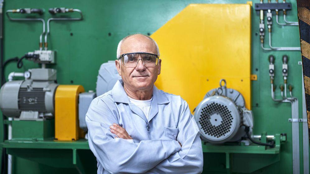 Foto: Un obrero mayor de 55 años. (iStock)