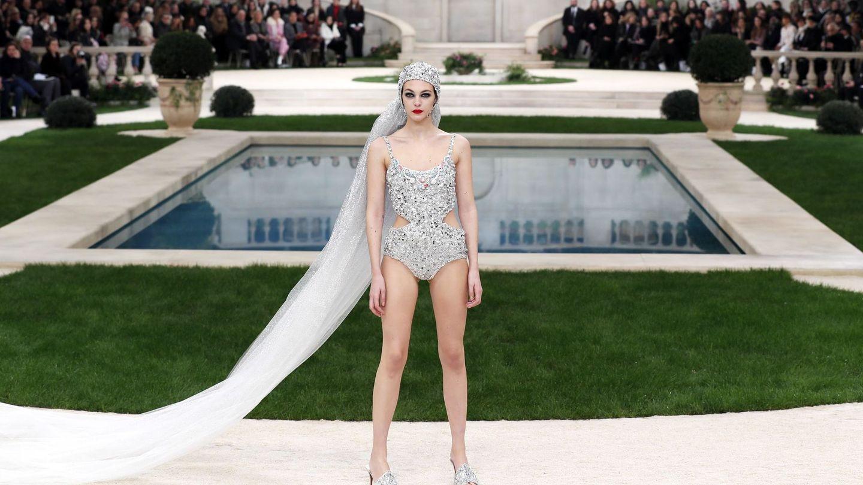 El desfile de Chanel. (EFE)