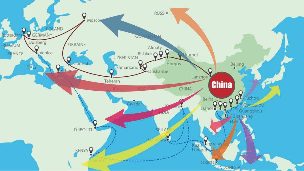 Foto: La nueva ruta de la seda tiene como epicentro a China. (iStock)