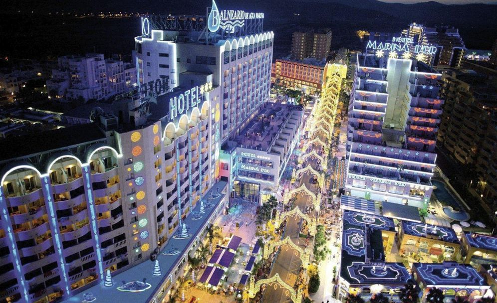 Foto: Vista de Marina D'Or.
