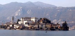 Post de Orta San Giulio, la acuarela de Dios