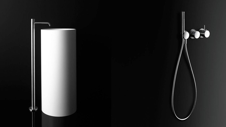 Foto: Lavamanos y grifería de ducha 'Eclipse', diseño de Studiocharlie para Boffi. (Tommaso Sartori)
