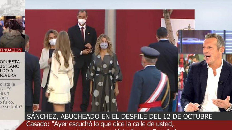 Joaquín Prat, en 'Cuatro al día'. (Mediaset España)